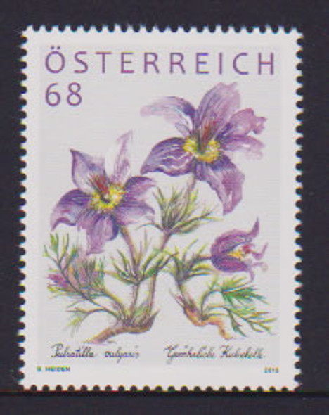 AUSTRIA: Pasque flower .68 value