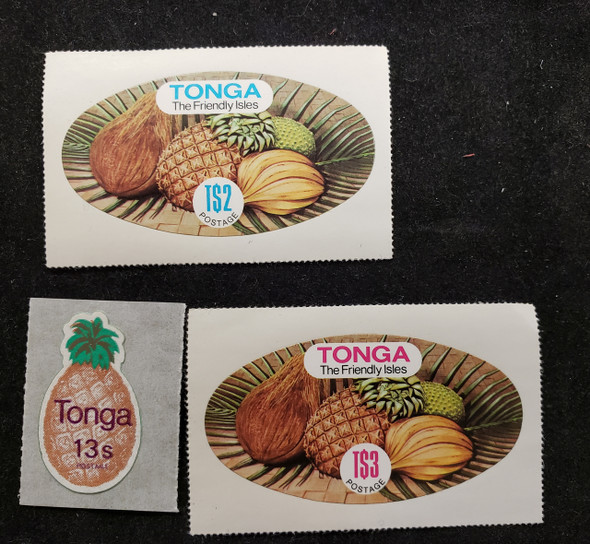TONGA (1982) Fruit,Pineapple (3v)