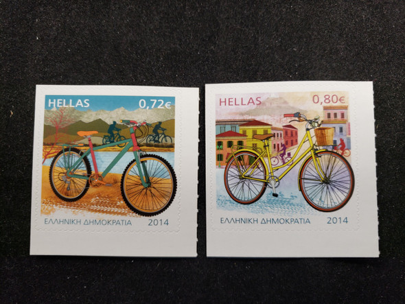 GREECE (2014) Bicycles (2v)