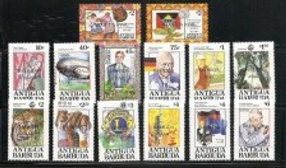 BARBUDA  (1993)- Anniversaries & Events- Space Year- Zeppelin- Earth Summit-