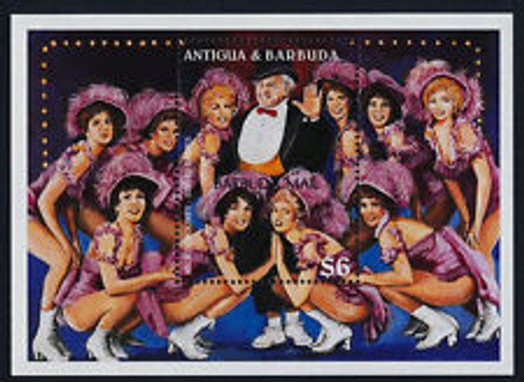 BARBUDA (1999) Micky Rooney, Sugar Babies, Dancers