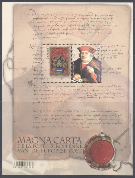 BELGIUM (2016) - Magna Carta- Sheet of 2