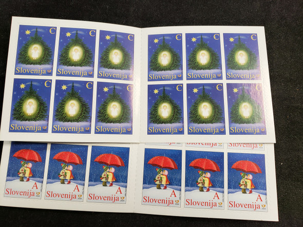SLOVENIA (2005) CHRISTMAS  Booklets (2)