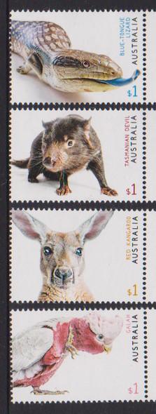 AUSTRALIA (2019)- Fauna- Bird, Snake, etc. (4v)