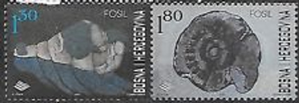 BOSNIA (2001) Fossils (2v)