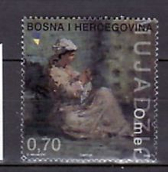 BOSNIA (2003) ART, Woman (1v)