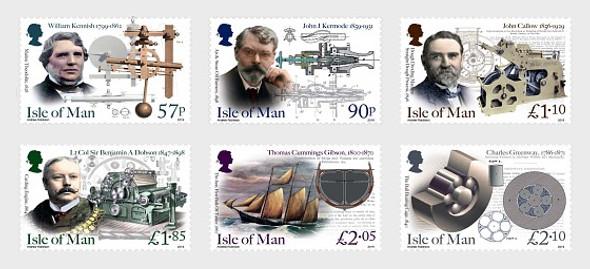ISLE OF MAN (2019)- Eminent Victorian Engineers  (6V)
