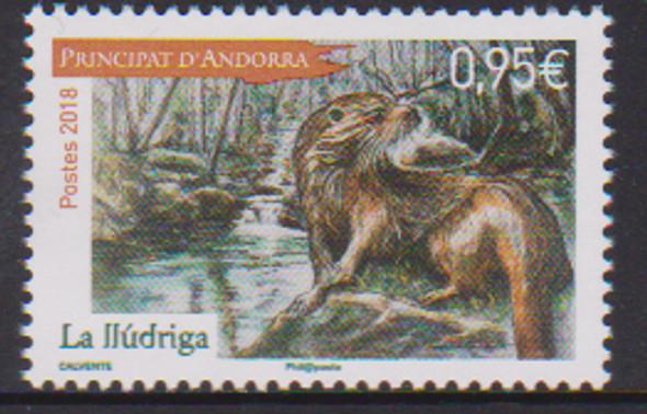 "FR. ANDORRA (2018)- LEGEND --ANIMAL ""La Lludriga"""