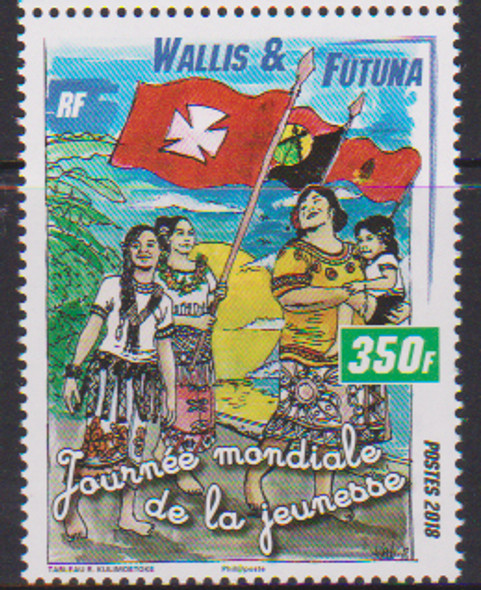WALLIS & FUTUNA (2018)- WORLD YOUTH DAY