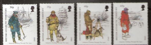 BRITISH ANTARCTIC TERRITORY (1998)- Antarctic Clothing