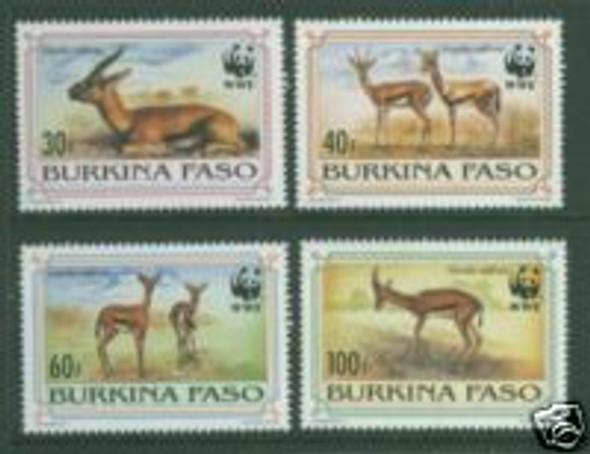 BURKINA FASO (1993) - WWF- Gazelles (4)