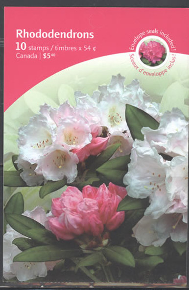 CANADA (2009) - Rhododendrons Booklet-