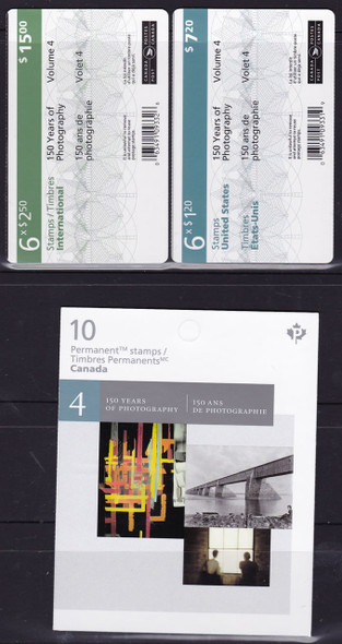 CANADA (2016) - Photography 150 years #4 Booklets- self-adhesive (3)