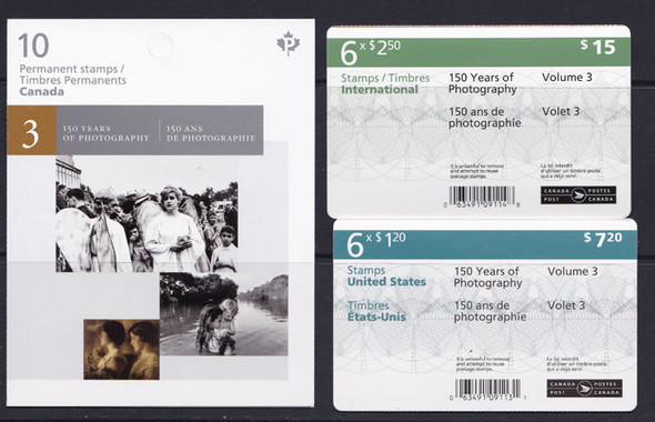 CANADA (2016) : Photography Booklets- self-adhesive (3)
