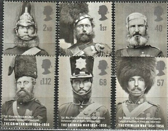 GREAT BRITAIN (2004) Military, Crimean War (6v)