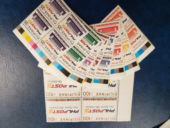 PHILIPPINES (2013) Mail Definatives BLOCKS (9v)