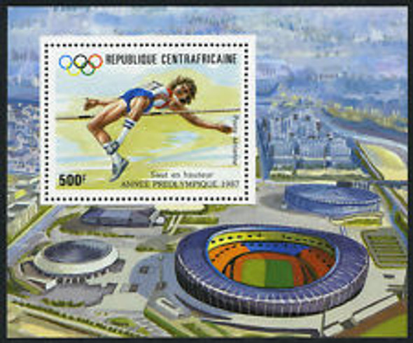 CENTRAL AFRICA REPUBLIC (1987) Olympics