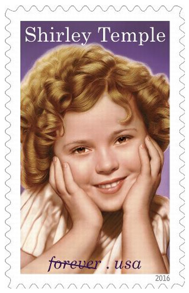 "US (2011)- Shirley Temple- ""Legends of Hollywood"" Sheet of 20 Forever Stamps"