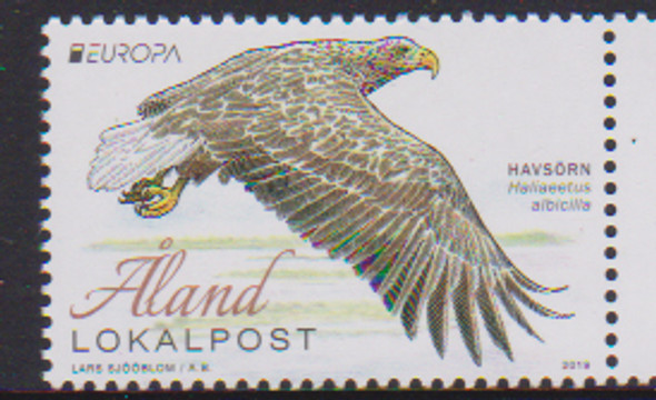 ALAND (2019)- Europa Issue- National Bird