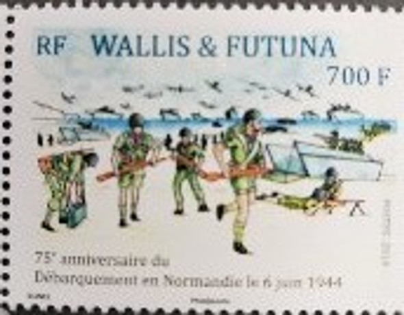 WALLIS & FUTUNA (2019) WWII- 75th Anniversary Of Landing In Normandy (1v)