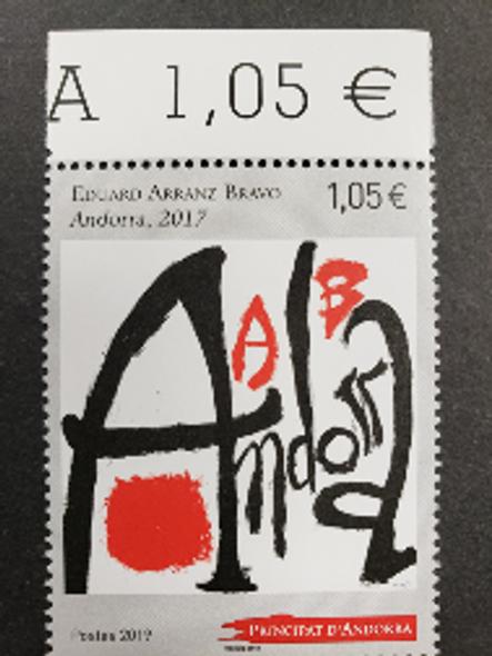 FRENCH ANDORRA (2019) Art , Edward Arranz Bravo (1v)