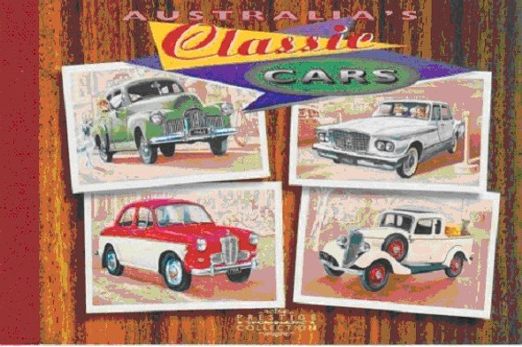 Classic Cars- Prestige Collection booklet - Dogs- Bicycle- e