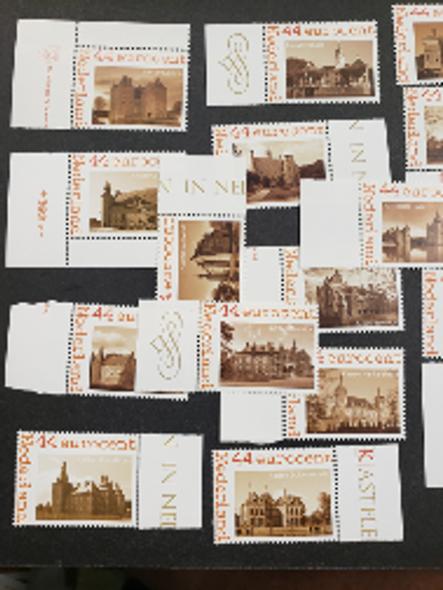 NETHERLANDS (2010) Castles , 24 Different