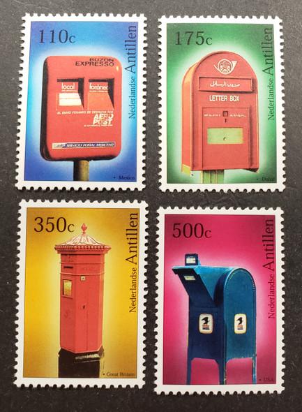 NETHERLANDS ANTILLES (2005) Mailboxes (4v)