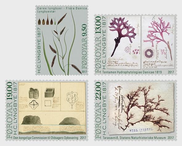 FAROE ISLANDS (2017)- Botanist H.C. Lyrgbye  (4v)