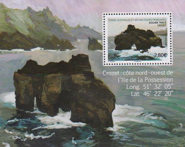 FRENCH S. ANTARCTIC TERRITORY (2020)- CROZET ISLAND SOUVENIR SHEET