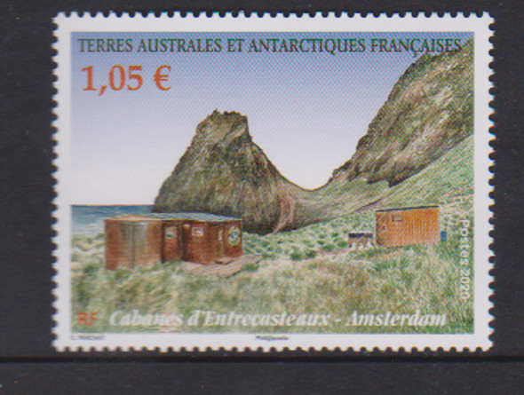 FRENCH S. ANTARCTIC TERRITORY (2020)- Amsterdam Cabins (1v)