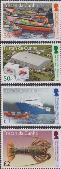 TRISTAN DA CUNHA (2020)- LOBSTER FISHING (4v)