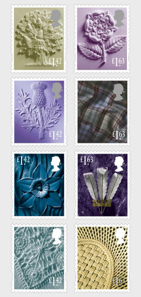 GR. BRITAIN (2020)- COUNTRY DEFINITIVES (8V)