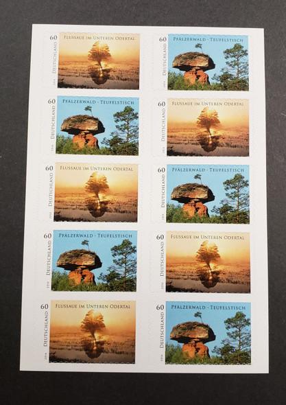 GERMANY (2014) Wild Germany SA Booklet , Trees , Scenery LAST ON