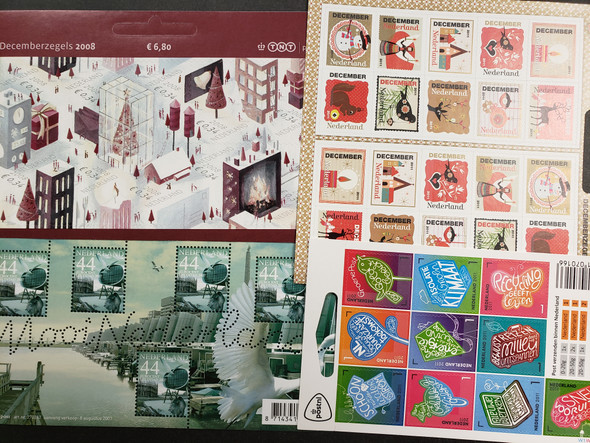 NETHERLANDS SHEETS Booklet Panes OUR ORIGINAL RETAIL > $120