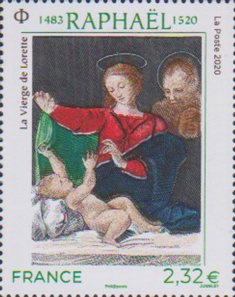 FRANCE  (2020)- Raphael Painting