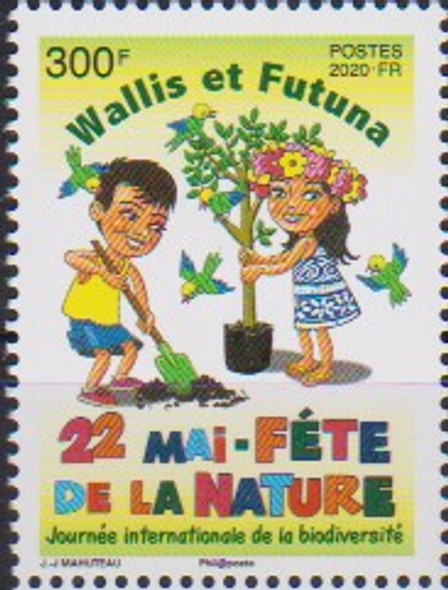 WALLIS & FUTUNA (2020)- EARTH DAY (Cartoon)