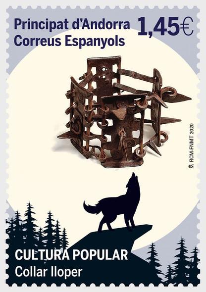 SP. ANDORRA (2020)- Popular Culture- Wolf Collars