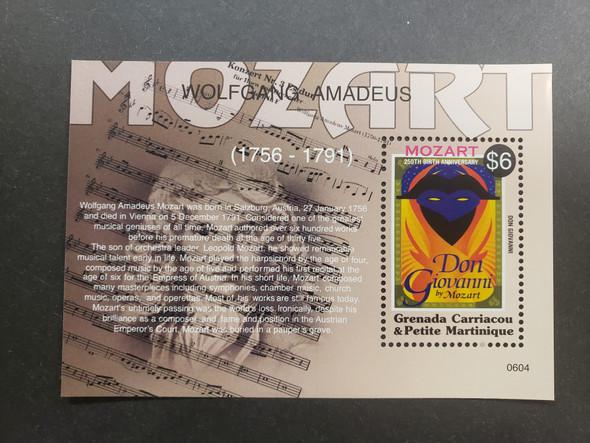 GRENADA GRENADINES (2006)Music. Mozart SS