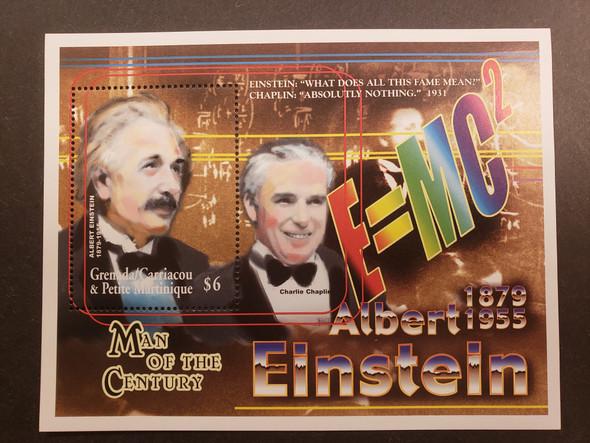 GRENADA GRENADINES (2000) Einstein,Man Of Century SS