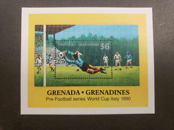 GRENADA GRENADINES (1989) Soccer , Pre Football Series , Italy SS
