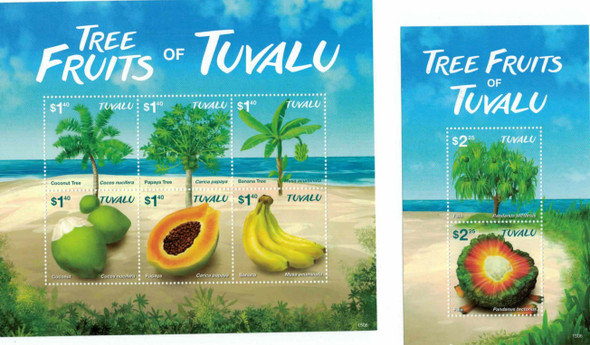 TUVALU (2016)- Fruits & Fruit Trees Sheets (2)