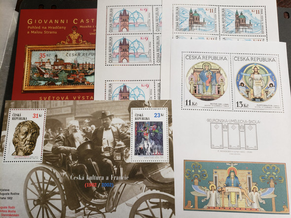CZECHOSLOVAKIA Collection Clearance Of Sheets and SS