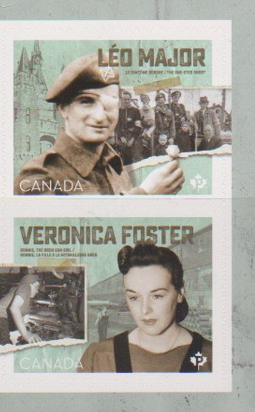 CANADA (2020)- WWII Heroes (2v)