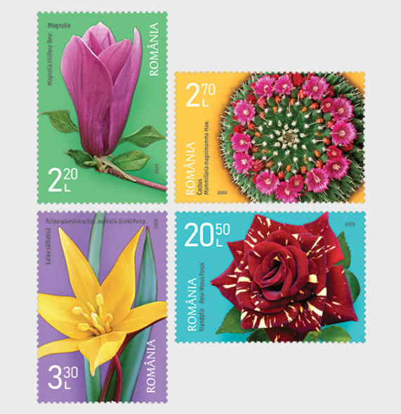 ROMANIA (2020)- Botanical Gardens Anniversary (6)