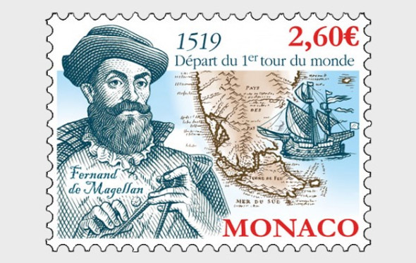 MONACO (2020)-500th Anniversary of the First Circumnavigation of the Earth