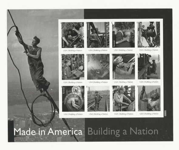 US (2013)- BUILDING A NATION- 12v (Classic Photos) #4801