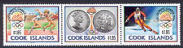 COOK ISLAND (1993) Coronation (3v)