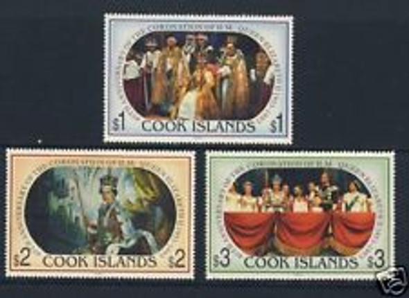 COOK ISLANDS ( 1993) Queen Elizabeth Coronation