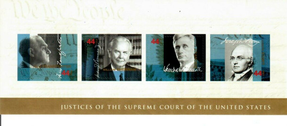 US (2009)- SUPREME COURT JUSTICES SHEET OF 4v-#4422